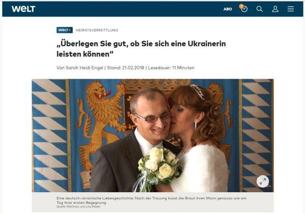 Online-Dating-Seiten in der Ukraine