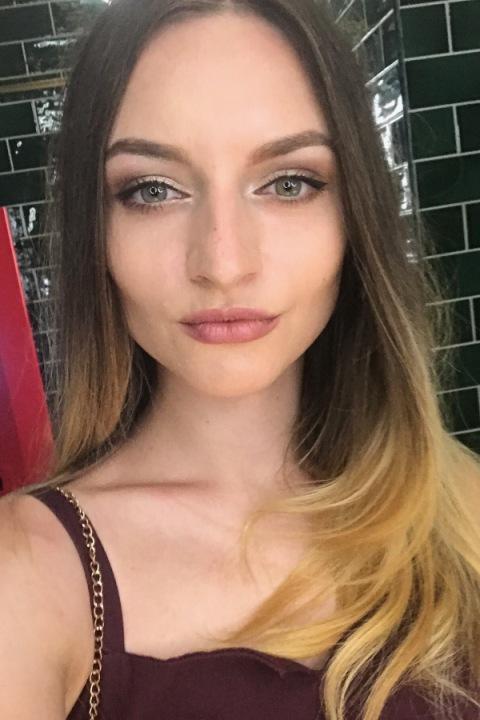 Hübsche ukrainische Dame